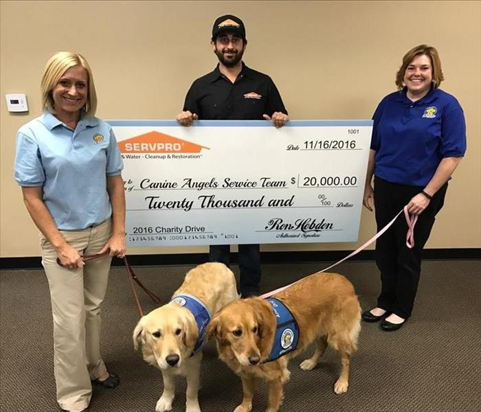 SERVPRO of San Diego City SW Supports Canine Angels Service Team
