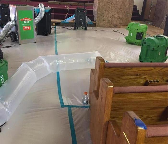 SERVPRO Specialty Drying Equipment Commercial Property San Diego
